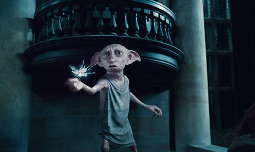 house elf Harry Potter Deathly Hallows