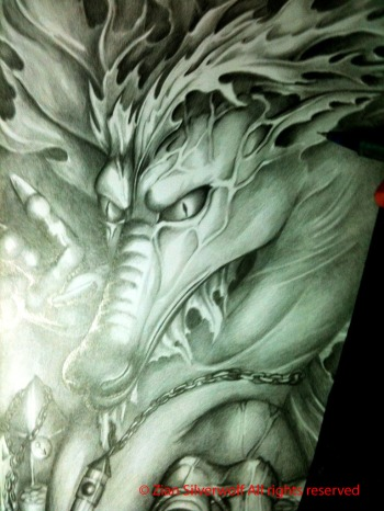 fantasy dragon zian silverwolf
