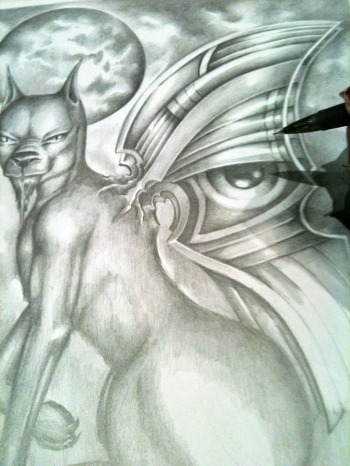 eye of horus eye of providence occult esoteric fantasy art zian silverwolf